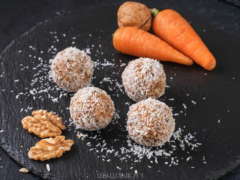 Морковные шарики